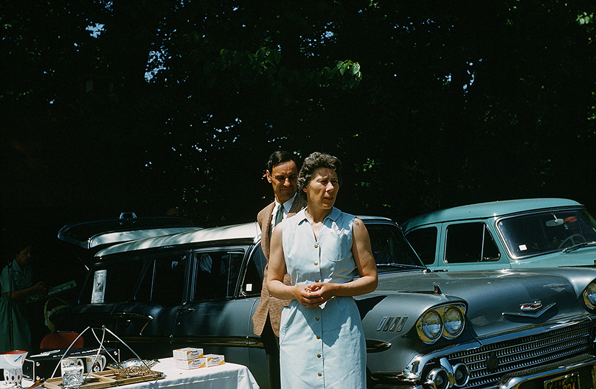1950 cars and picnic